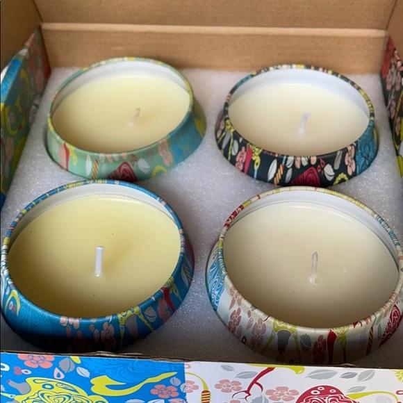 NIB 4 Soy Wax Scented Candles 4 Oz Each